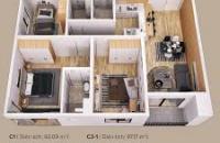 Mở bán mới tòa CT1B The Zen Gamuda tòa đẹp nhất dự án chỉ từ 1,5 tỷ/căn, LH 0917236794