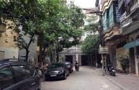 Bán nhà Hoàng Quốc Việt 52m2, 9 tỷ ô góc ngõ oto có vỉa hè MT 5.5 m