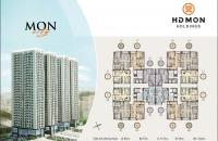 0961 980322! CC bán cắt lỗ CH HD Mon City, tầng 1805 (67m2) và căn 1504 (54m2), giá 26tr/m2