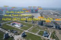 Bán đất Biệt Thự, Liền Kề dự án Thanh Hà Mường Thanh - Cienco5 tự xây, giá cắt lỗ cần bán gấp trước tết.lh:0975.404.186