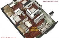 Bán căn góc tòa A Golden Land tầng 6, DT 131.78m2, giá 27.9 tr/m2. LH: 0918114743