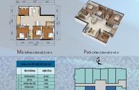 Bán căn hộ 122m2 chung cư 304 Hồ Tùng Mậu, full đồ, giá chỉ 18t r/m2