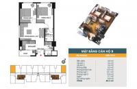 Chính chủ cần bán CC 789 Xuân Đỉnh, tầng 1501, DT 60.3m2, giá bán 25 tr/m2. LH 0936071228