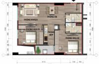 Bán căn hộ A1 chung cư 43 Phạm Văn Đồng. Diện tích 69m2