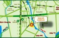 Cần bán căn hộ tầng 14 CC Nam Đô - 609 Trương Định, cửa chính Đông Nam, 98m2, 3PN. LH 0972015918