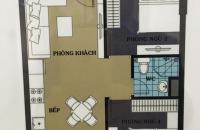 Bán căn hộ 46,5m2 chung cư 987 Tam Trinh . Giá HĐ : 14.8tr/m2 . View nội đô