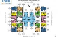 Chính chủ cần bán căn chung cư Tứ Hiệp Plaza giá rẻ, căn 1508, DT 66,7m2, giá 19tr/m2