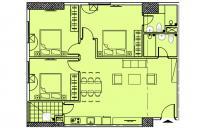 Bán căn góc giá CĐT, 96.4m2, tầng 10 và 23, Eurowindow River Park