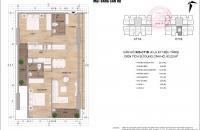 Bán chung cư Thông Tấn Xã, 83m2 giá 20tr/m2