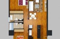 Chính chủ bán cắt lỗ căn góc 06 diện tích 97,3m2 chung cư New Skyline CC2 Văn Quán