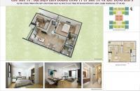 Gấp!!! bán cắt lỗ căn hộ 70m2 chính chủ. HUD3 60 Nguyễn Đức Cảnh. LH 0962.558.742
