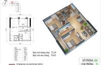 Chính chủ bán căn hộ 2 ngủ CC Eco Green City Nguyễn Xiển, giá 2.1 tỷ. LH 0986 209 218