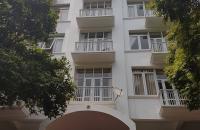 Mặt phố Nguyễn Khả Trạc, lô góc 3 mặt tiền, 180m2 x8 tầng, MT 12m