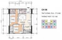 Bán căn hộ 72m2 chính chủ. chung cư A10 Nam trung yên,ban công đông nam. LH 0968.595.532