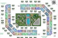 Bán lỗ căn hộ CC The Emerald, tầng 1512: 77m2, tòa E1 (căn góc) 26tr/m2, LH 0961.897.088