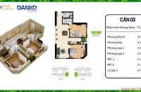 Bán suất ngoại giao căn 03 tầng 7 tòa CT1 chung cư ICID Complex