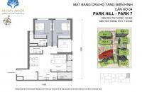 Giá rẻ! Căn góc Đông Bắc - Park 7 - 120m2 - View tháp đồng hồ - 5.15 tỷ - Tầng trung. LH 0901793288