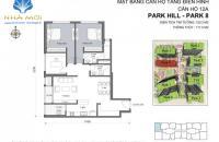 Bán căn góc Park 8, 120m2, 3 phòng ngủ sáng, 5.2 tỷ bao tên - Có phí DV 10 năm. LH: 0901793288