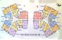 Chính chủ CH 1206 diện tích 73,47m2 tại chung cư CT1A Yên Nghĩa, giá mong muốn 12tr/m2, 0963922012