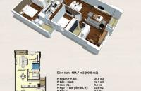 Sở hữu căn hộ rộng 99.8m2 Handi Resco Lê Văn Lương 3 phòng ngủ giá rẻ chỉ từ 32.5tr/m2, 0934634268