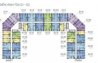 Bán căn hộ 2 phòng ngủ, 1 phòng đa năng G1.08 và căn 3 phòng ngủ G2.02 dự án Sunshine Garden