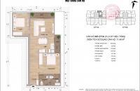 Bán gấp căn hộ 71m2 CT1B chung cư Thông Tấn Xã Việt Nam, có sổ đỏ, 19.5tr/m2