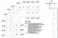 Chính chủ bán gấp CHCC 1212 tại CT2A Thạch Bàn, DT 69.73m2, bán giá 13tr/m2, 0961637026