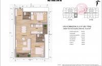 Bán xuất cán bộ căn hộ 75m2 chung cư Thông Tấn Xã Việt Nam, 19,5tr/m2