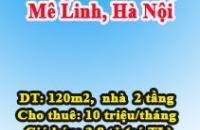 Bán hoặc cho thuê nhà mặt đường Võ Văn Kiệt, Mê Linh, Hà Nội