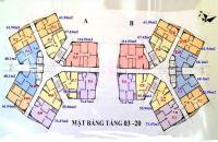 Bán gấp căn hộ chung cư CT1B Yên Nghĩa căn 1809, DT 61.94m2, giá 11tr/m2, LH: 0971866612