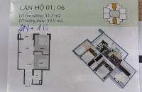 Độc quyền bán căn hộ Mipec Kiến Hưng tầng 8, 17 rẻ hơn 10tr so với tầng khác