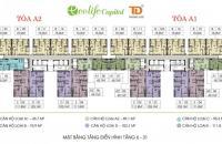 Chính chủ cần bán gấp Ecolife Capitol, căn 75,9m2, tầng 15- 09, giá rẻ 26tr/m2 (bao phí)