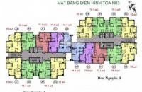 Chính chủ bán căn hộ chung cư K35 Tân Mai, tầng 1106 tòa N03A DT 78m2, bán 24tr/m2, 0962449105