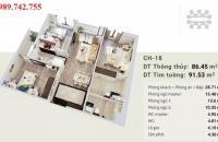 Chỉ từ 3 tỷ sở hữu ngay căn hộ 3 phòng ngủ view Sông Hồng tại Imperia Sky Garden