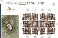 Căn hộ cao cấp đẳng cấp 5 sao mặt đường Nguyễn Trãi, căn nào cũng là căn góc