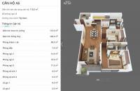 Bán cắt lỗ chung cư tại dự án Legend Tower 109 Nguyễn Tuân 108m2 3PN, giá 3,8 tỷ