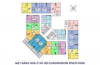 Nhà ở xã hội Eurowindow River Park giá gốc, chân cầu đông Trù Đông Anh. LH: 0964.811.355