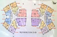 Tôi bán gấp căn 1202, DT 61.94m2, CC CT1 Yên Nghĩa, giá 12tr/m2 bao tên, 0981129026