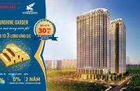 Sunshine Garden Vĩnh Tuy mở bán đợt 2, giá 31tr/m2 (VAT + full NT) CK 100 triệu, LH: 0983901866