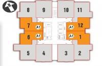 Bán cắt lỗ CC Nam Xa La 70.4m2, tầng 12 và 80.3m2 tầng 15, giá rẻ 11tr/m2, LH 0902 193 188