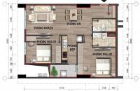 Cần bán cắt lỗ căn 69.8m2, tòa CT4 dự án 43 Phạm Văn Đồng, giá gốc 15.9 tr/m2. LH 0362.895.468