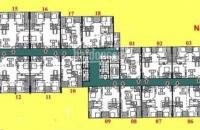 Chính chủ bán căn hộ chung cư 60 hoàng quốc việt, căn 17 tầng 8, dt: 71m2, giá 31tr/m2:0981129026