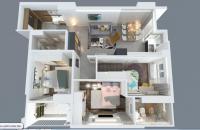 Nhượng bán căn hộ 90,7 m2, gần đường Tố Hữu