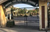 Bán 40,7m2 lô góc đất thổ cư ở Đại Tự, Kim Chung, Hoài Đức chỉ hơn 900tr