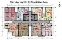 Bán căn góc số 01 tòa NO1-T2 bàn giao thô giá 27tr/ bao phí ;LH 0961134595