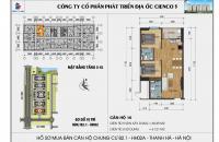 Chỉ với 200 triệu sở hữu ngay căn hộ 2PN tại chung cư Thanh Hà Cienco 5