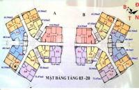 Chủ nhà bán gấp căn 1109 chung cư CT1A Yên Nghĩa, DT 61.94m2, bán 12tr/m2, 0981129026