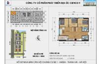 Bán căn 3 phòng ngủ, diện tích 80 m2, giá chỉ 914 triệu/căn, hỗ trợ lãi suất 7,5%