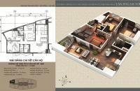 Căn hộ cao cấp Victoria Văn Phú 116m2, 3PN, giá chỉ 17 triệu/m2, căn góc
