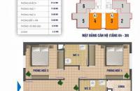 Bán căn hộ 80m2 CT1 Nam Xa La, giá 1,16 tỷ